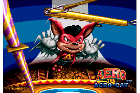 Aero the Acro-Bat (Video Game) - TV Tropes