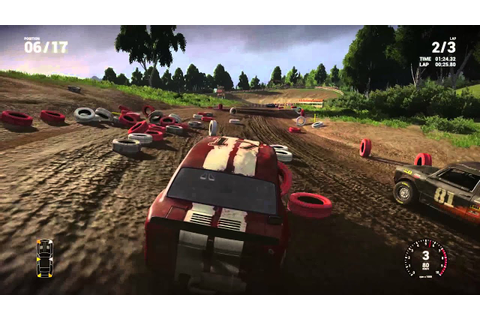 Next Car Game: Steam Early Access — Gravel Race Gameplay ...
