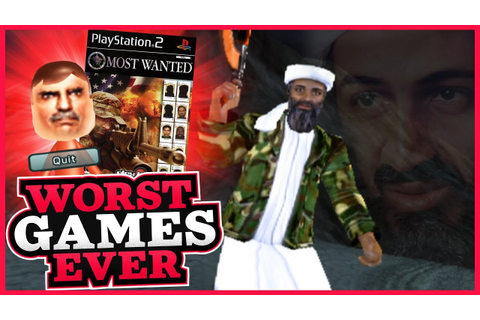 Worst Games Ever - America's 10 Most Wanted - YouTube