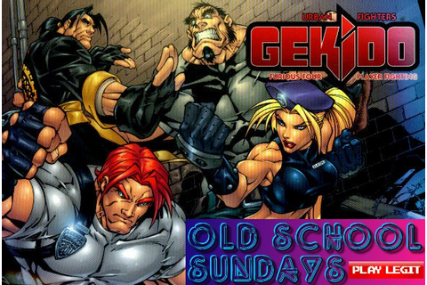 Gekido: Urban Fighters Retro Review – Play Legit: Video ...