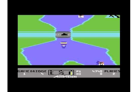 River Raid on the Commodore 64 - YouTube