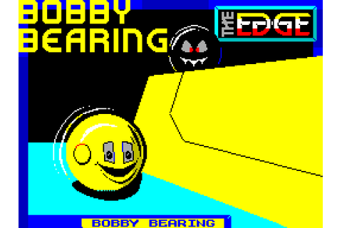 Bobby Bearing (1986) by Softek International ZX Spectrum game