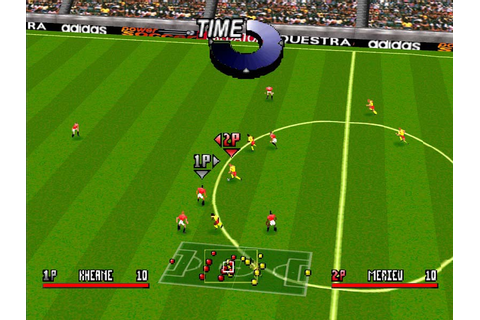 Addidas Power Soccer Playstation Game Screenshot Gallery