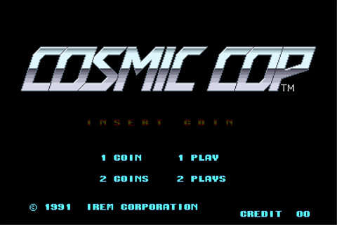 Cosmic Cop Details - LaunchBox Games Database