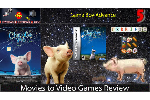 Movies to Video Games Review -- Charlotte's Web (GBA ...