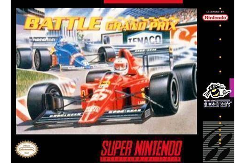 Battle Grand Prix ROM - Super Nintendo (SNES) | Emulator.Games
