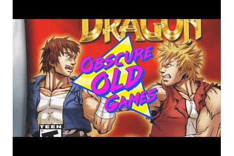 Obscure Old Games: Double Dragon Advance - YouTube
