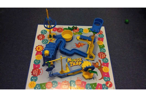 Mousetrap game - YouTube