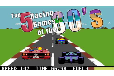 The 5 Best Racing Games of the 80's - YouTube