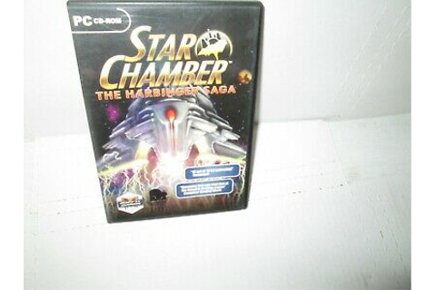STAR CHAMBER - THE HARBINGER SAGA Very rare PC Computer CD ...