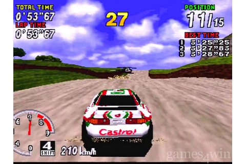 Sega Rally Championship Download on Games4Win