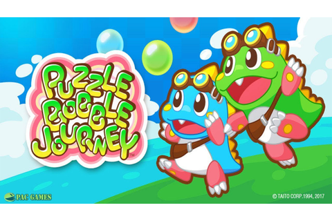 PUZZLE BOBBLE JOURNEY - New Characters Unlocked - YouTube