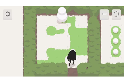 A Good Snowman Is Hard To Build is a charming puzzle game