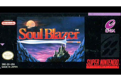 Soul Blazer - Complete Soundtrack - YouTube