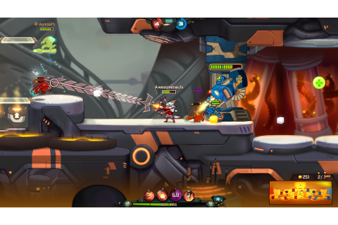 Download Awesomenauts Full PC Game