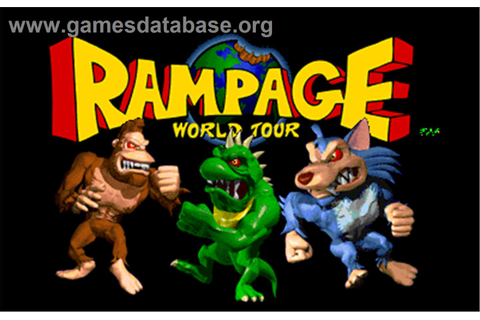 Rampage: World Tour - Arcade - Games Database