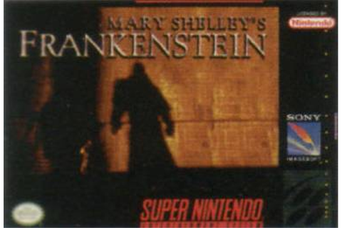 Mary Shelley's Frankenstein (video game) - Wikipedia