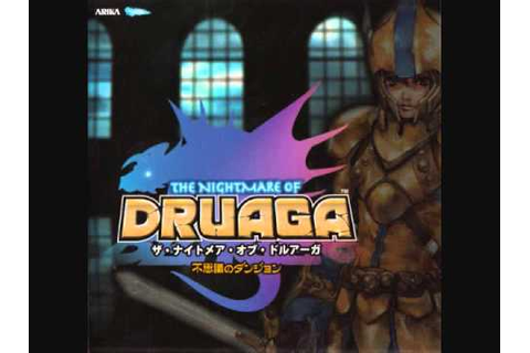 [02] Title • the Nightmare of Druaga original game ...