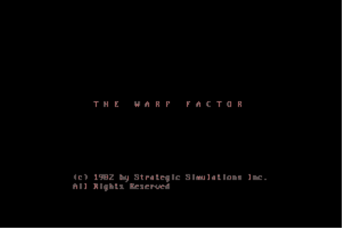 Play The Warp Factor Online - My Abandonware