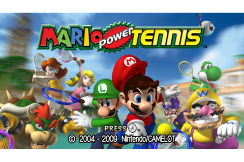 Mario Power Tennis Screenshots for Wii - MobyGames