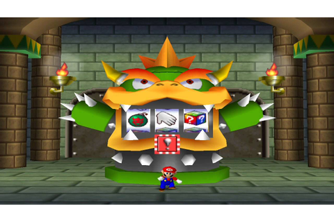 Mario Party 2 Mini Games - Bowser Slots - YouTube