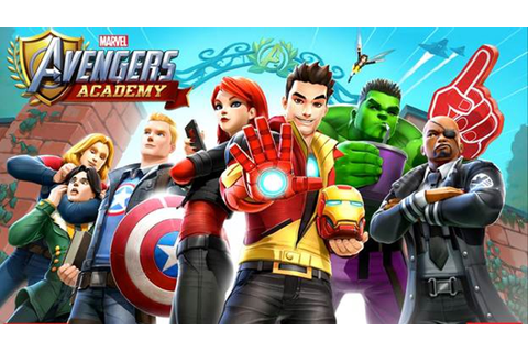 MARVEL AVENGERS ACADEMY Mobile Game Brings Iron Man, Cap ...