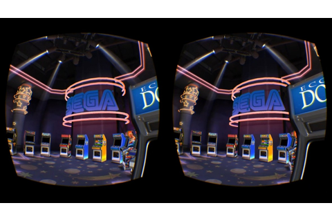 Play Pac-Man and Sonic in Oculus' virtual Arcade for ...