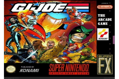 Viewing full size G.I. Joe: The Arcade Game box cover
