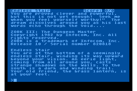 Zork III: The Dungeon Master - My Abandonware
