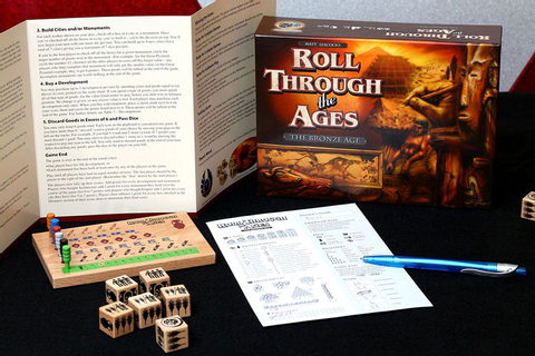 Roll Through the Ages: The Bronze Age Review | Zatu Games UK