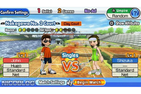 Everybody's Tennis (Europe) (En,Fr,De,It,Es) PSP ISO ...
