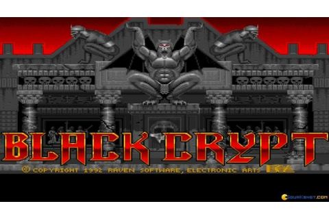 Black Crypt - 1992 PC Game, introduction and gameplay ...