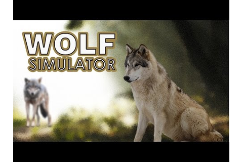 Wolf Simulator Gameplay [PC] - YouTube