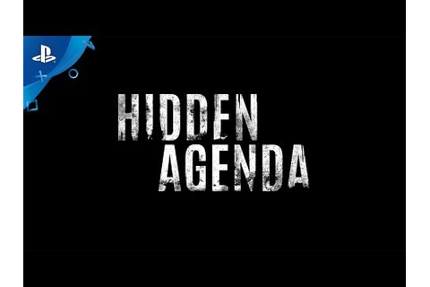 Hidden Agenda Game | PS4 - PlayStation