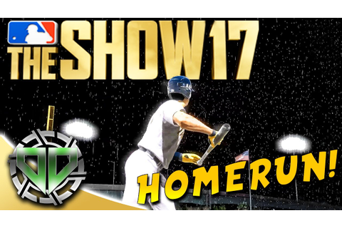 MLB The Show 17 : First game as a Right Fielder! HomeRun ...