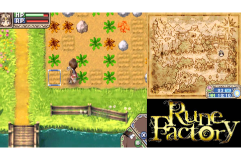 Let's Play Rune Factory: A Fantasy Harvest Moon 03 ...