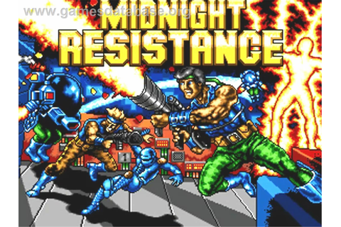 Midnight Resistance - Commodore Amiga - Games Database