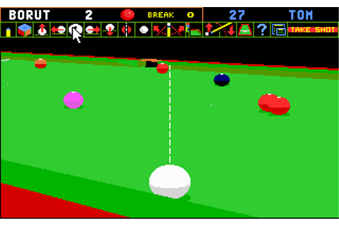 Download Jimmy Whites Whirlwind Snooker | Abandonia