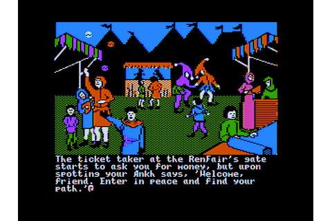 Ultima IV: Quest of the Avatar Screenshots for Apple II ...