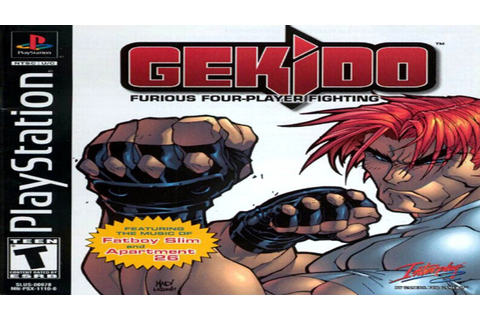 Gekido: Urban Fighters - Gameplay PS1 - YouTube