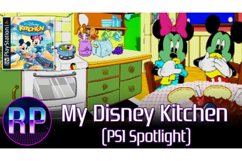 My Disney Kitchen - Mickey Eats Our Disgusting Food (PS1 ...