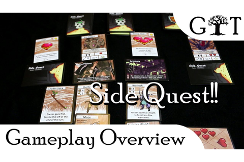 Side Quest Game Overview - YouTube