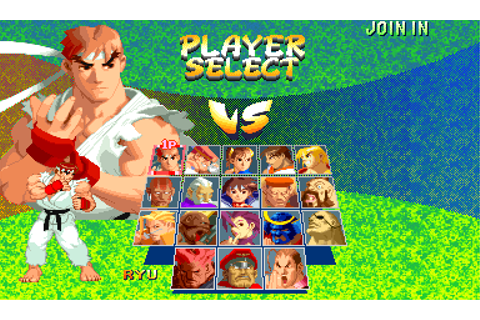 Street Fighter Alpha 2 - Videogame by Capcom