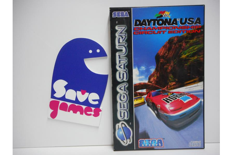 Daytona USA Championship Circuit Edition - Save Games