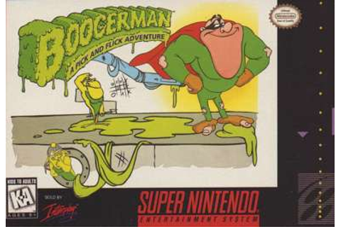Game: Boogerman: A Pick and Flick Adventure [SNES, 1994 ...