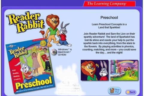 Reader Rabbit Preschool Star Sparkle Rescue