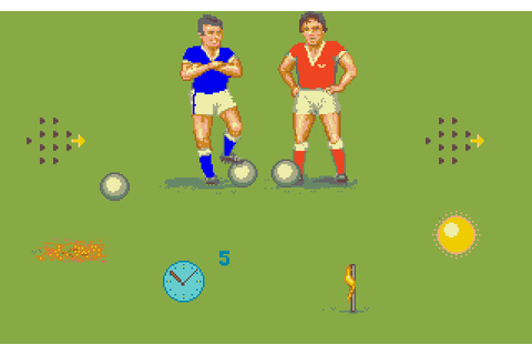 Amiga Soccer Details - LaunchBox Games Database