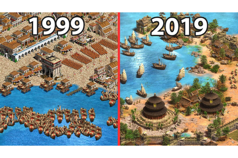 Age of Empires 2 HD vs Age of Empires 2 Definitive Edition ...