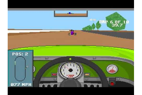 Mario Andretti's Racing Challenge (DOS) by Electronic Arts ...