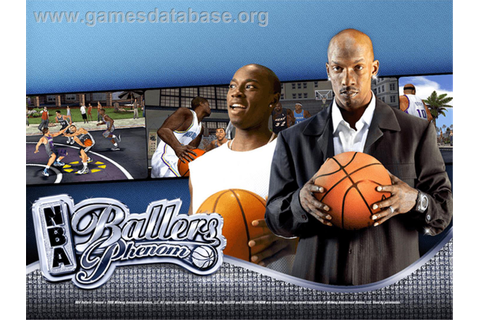 NBA Ballers: Phenom - Microsoft Xbox - Games Database